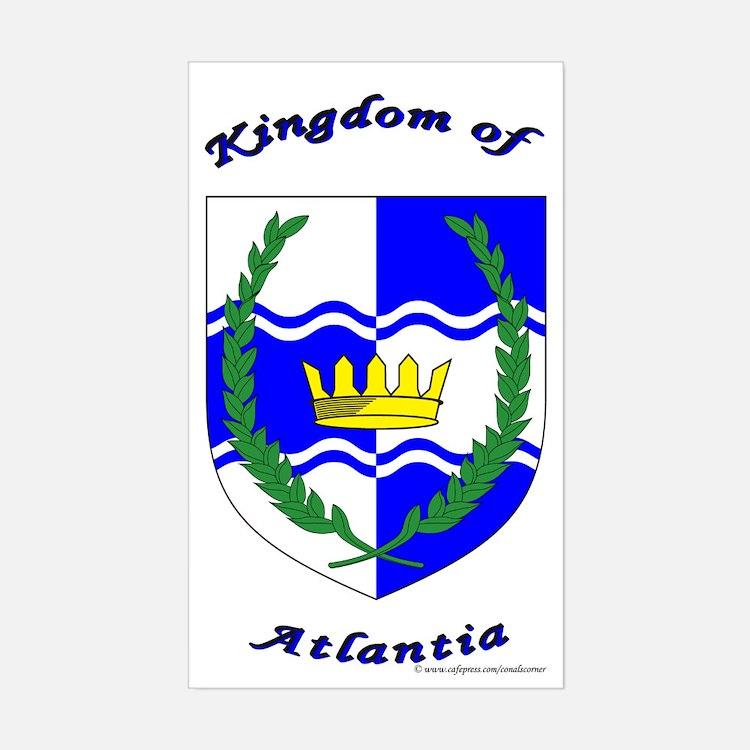 Atlantia Rectangle Decal