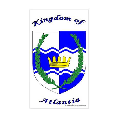 Atlantia Rectangle Sticker