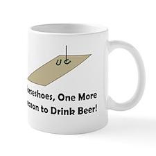 Horseshoes and Beer Mug