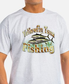 Yellowfin Tuna Fishing T-Shirt