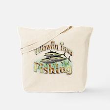 Yellowfin Tuna Fishing Tote Bag