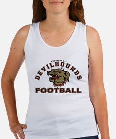 Devil Hounds Football Women's Tank Top