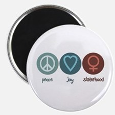 Peace Joy Sisterhood Magnet