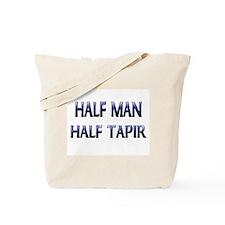 Half Man Half Tapir Tote Bag
