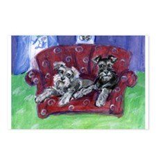 Schnauzer Mooove Over Postcards (Package of 8)