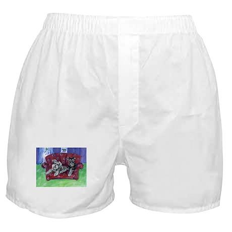 Schnauzer Mooove Over Boxer Shorts