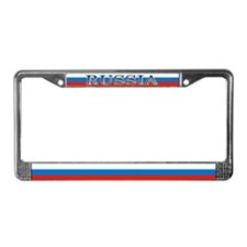 Russia Russian Flag License Plate Frame