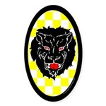 Populace Badge One Oval Sticker (50 pk)