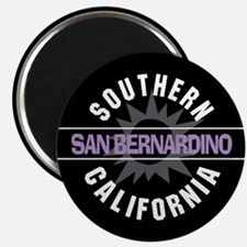 "San Bernardino California 2.25"" Magnet (100 pack)"