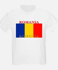 Romania Kids T-Shirt