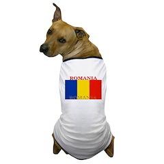 Romania Dog T-Shirt