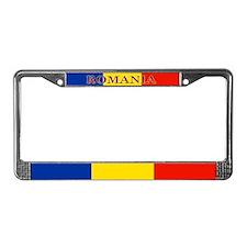 Romania License Plate Frame