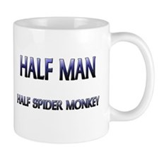 Half Man Half Spider Monkey Mug