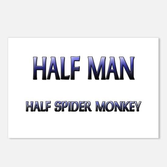 Half Man Half Spider Monkey Postcards (Package of
