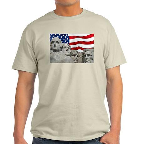 Rushmore/Flag Light T-Shirt