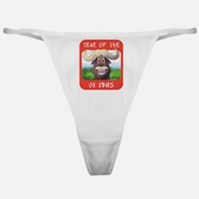 Year of The Ox 1985 Classic Thong