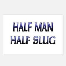 Half Man Half Slug Postcards (Package of 8)
