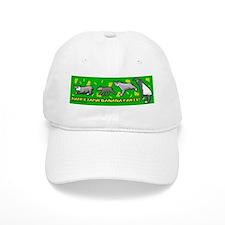 Happy Tapir Banana Party Baseball Cap
