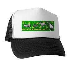 Happy Tapir Banana Party Trucker Hat