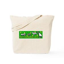Happy Tapir Banana Party Tote Bag
