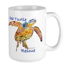 Sea Turtle Rescue 1 Mug