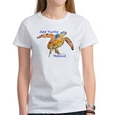 Sea Turtle Rescue 1 Tee