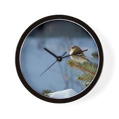 Gold Finch, Wall Clock