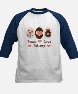 Peace Love Pottery Tee