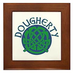 Dougherty Celtic Circle Framed Tile