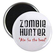 "Zombie Hunter 2.25"" Magnet"