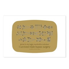 Sumerian 'Triple Bypass' Postcards (Package of 8)