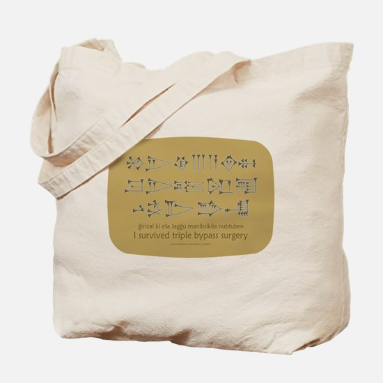 Sumerian 'Triple Bypass' Tote Bag