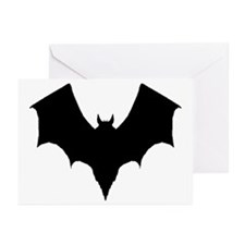 BLACK BAT Greeting Cards (Pk of 10)