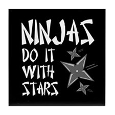 Ninja Tile Coaster