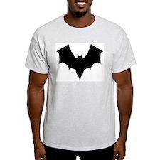 BLACK BAT Ash Grey T-Shirt