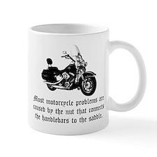 Cause of Motorcycle Problems Mug