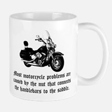 Cause of Motorcycle Problems Mug