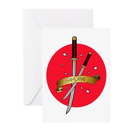 Sakura Samurai Greeting Cards (Pk of 10)