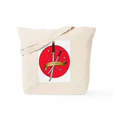 Sakura Samurai Tote Bag