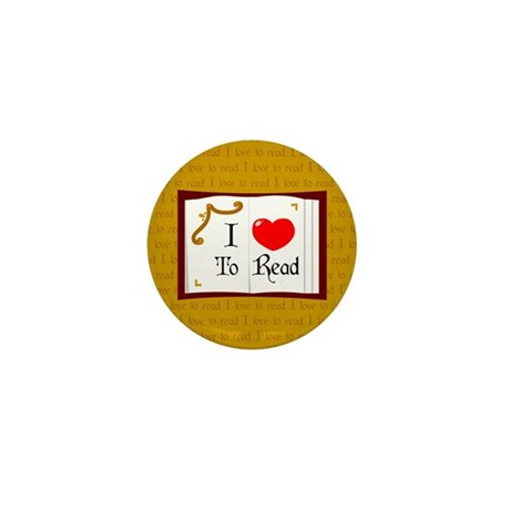 I Love To Read Mini Button (100 pack)