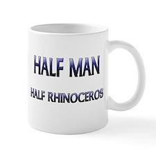 Half Man Half Rhinoceros Mug