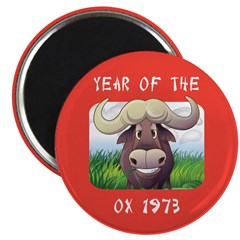 Year of The Ox 1973 2.25