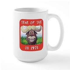 Year of The Ox 1973 Large Mug
