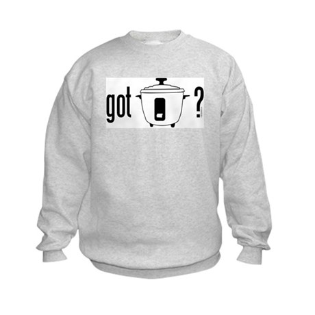 got rice (cooker) Kids Sweatshirt