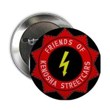 "FRIENDS OF KENOSHA STREETCARS 2.25"" Button"