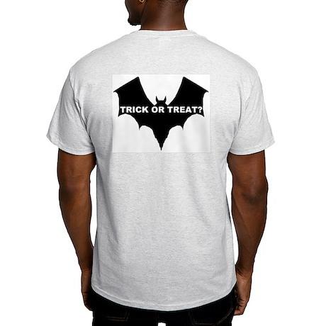 BLACK BAT - TRICK OR TREAT? Ash Grey T-Shirt