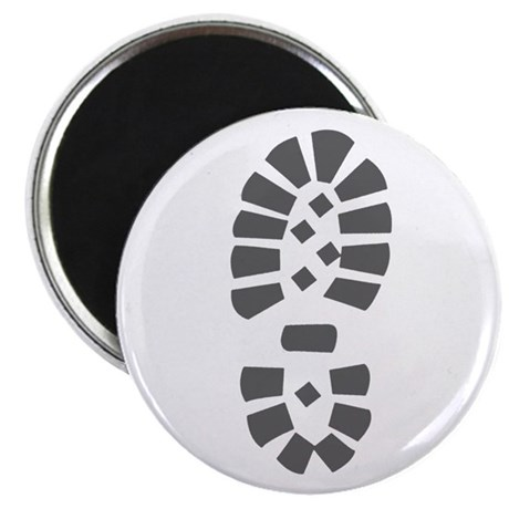 """Hiking Boot Print 2.25"""" Magnet (10 pack)"""