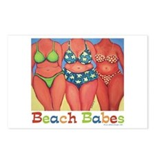 Beach Babes Postcards (Package of 8)