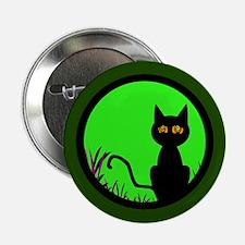 """Dizzy Moon Cat 2.25"""" Button"""