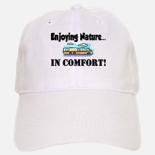 Enjoying Nature In Comfort Baseball Baseball Cap
